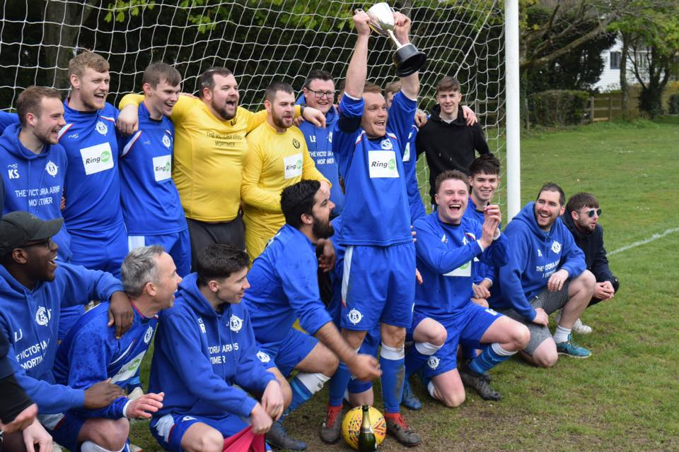 Burghfield Reserves win the league!