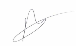 Peter O'Driscoll Signiture