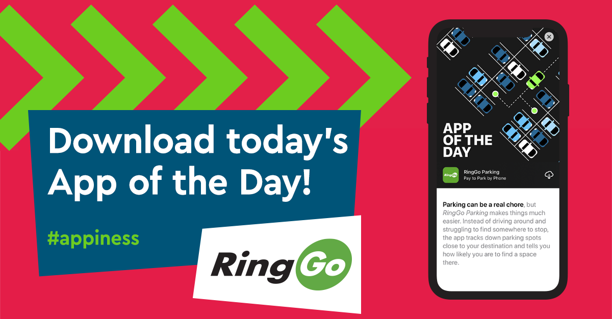 We're App of the Day!