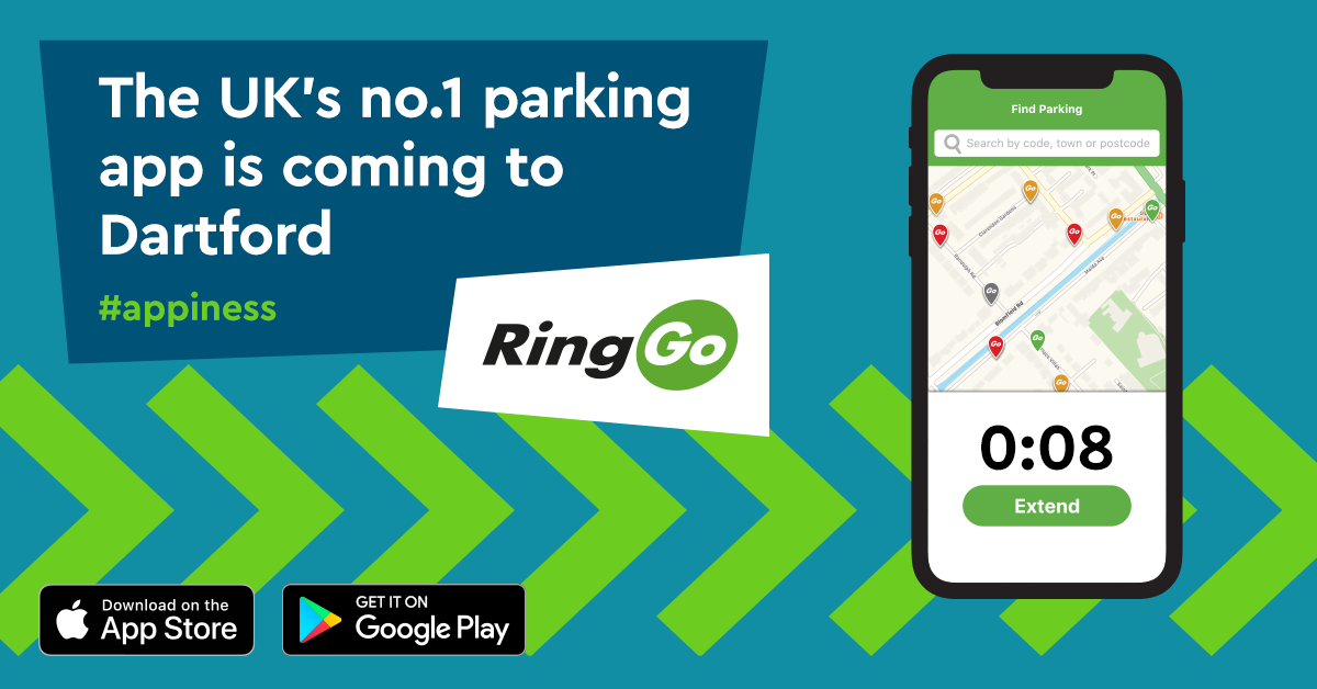 Pay for parking in Dartford with RingGo