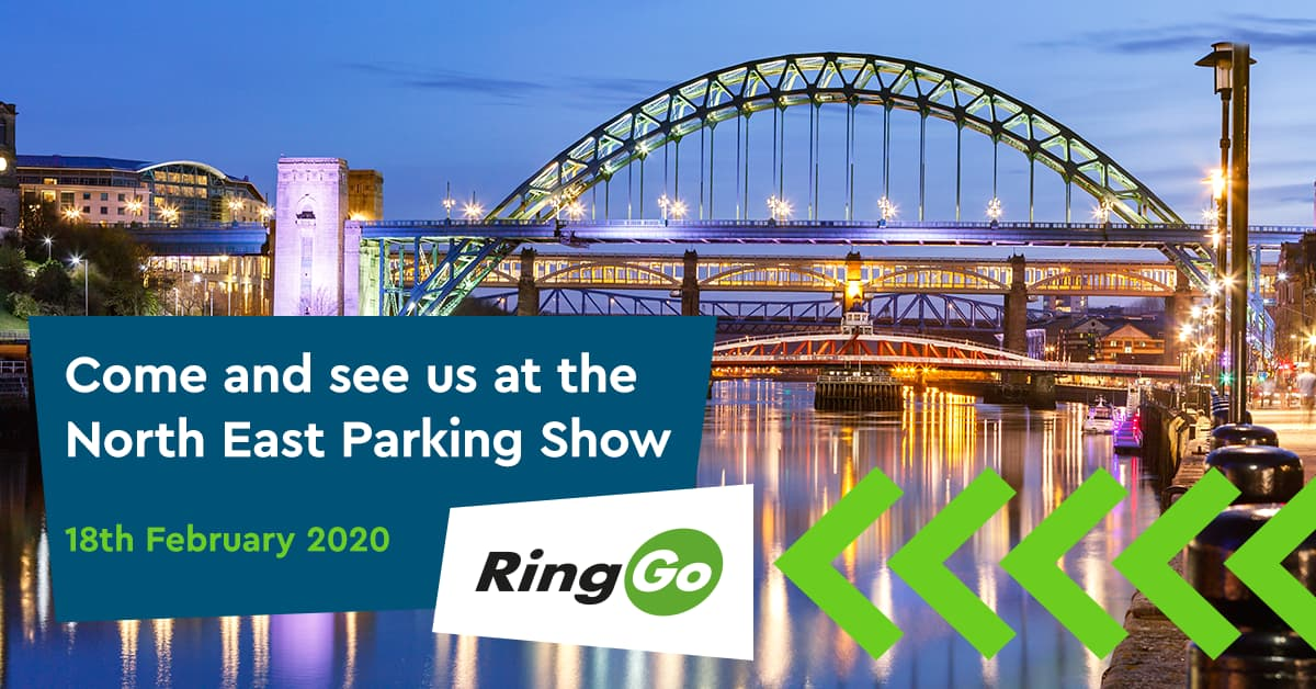 Come and see us at the North East Parking Show!
