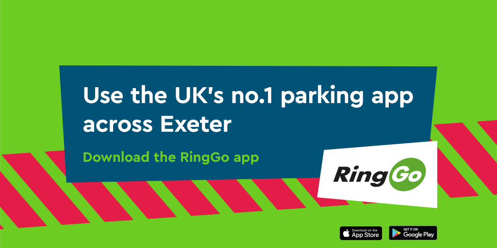 Pay for Parking in Exeter with RingGo