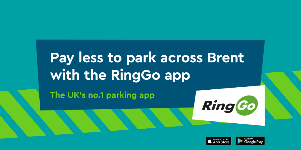 Pay less to park in Brent with RingGo