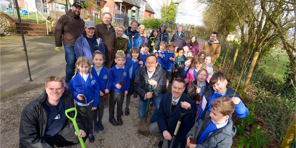 Hambledon Primary School partners with RingGo in carbon offsetting initiative