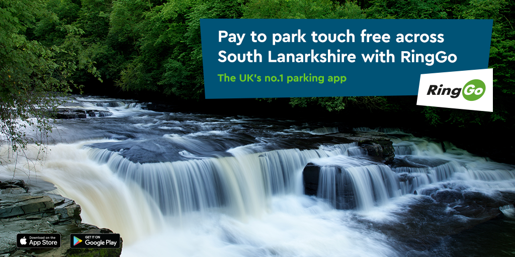 Pay for parking in South Lanarkshire with RingGo