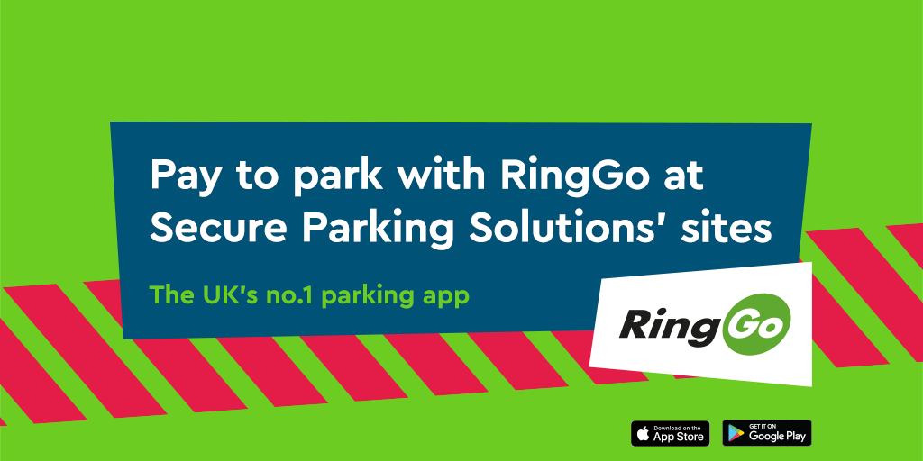 RingGo launches at Secure Parking Solutions sites