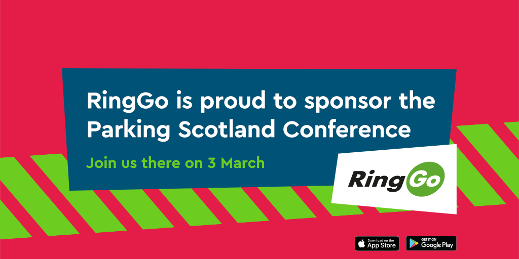 RingGo are sponsoring the Parking Scotland Conference