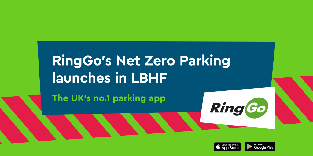 RingGo Net Zero Parking launches in Hammersmith & Fulham