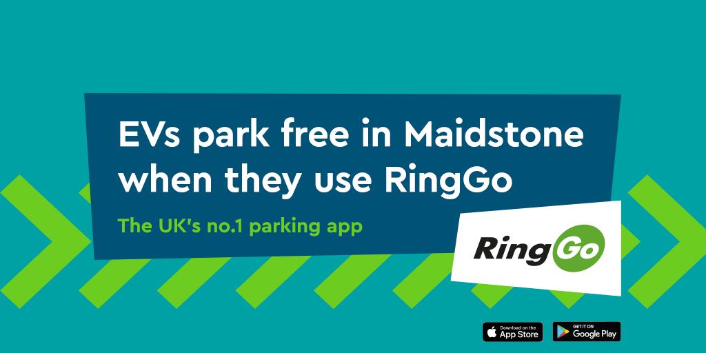 RingGo's Net Zero Parking goes live in Maidstone