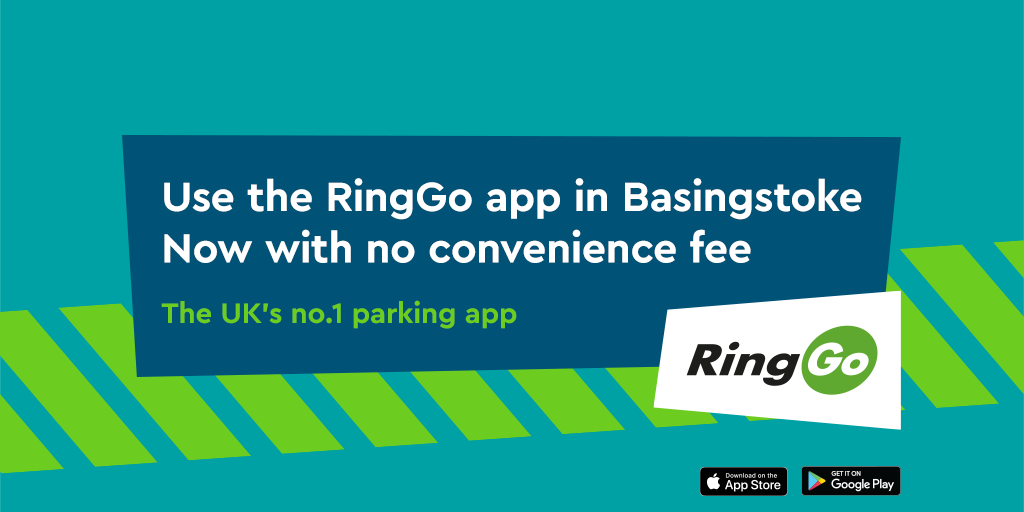RingGo now costs the same as cash in Basingstoke