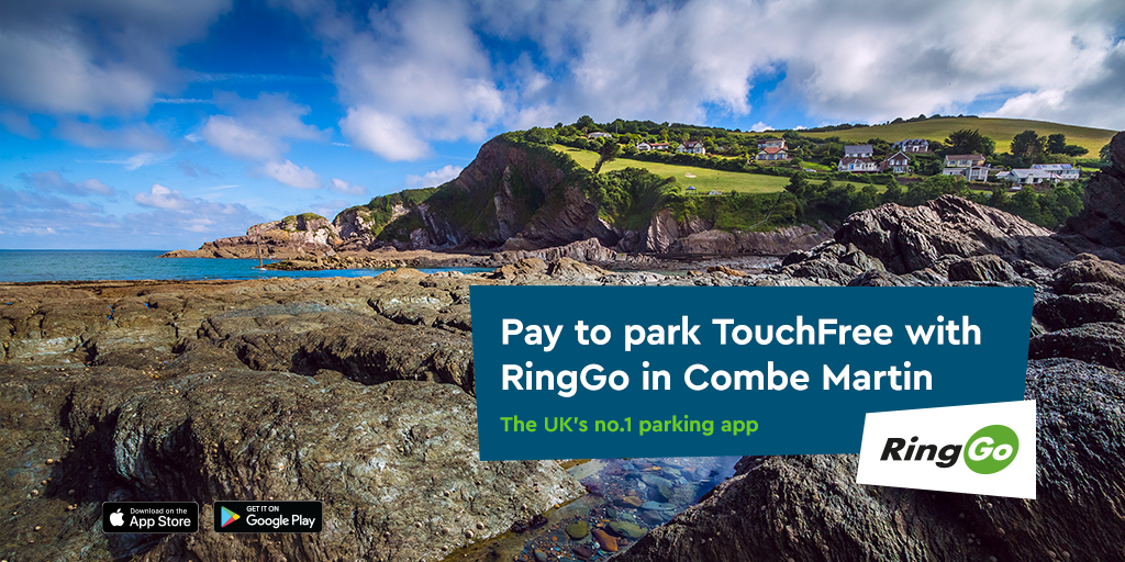 The UK's no.1 parking app launches in Combe Martin
