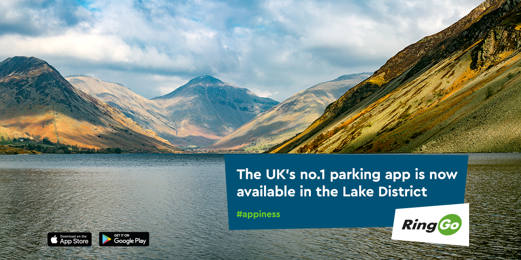 RingGo is now live across the Lake District