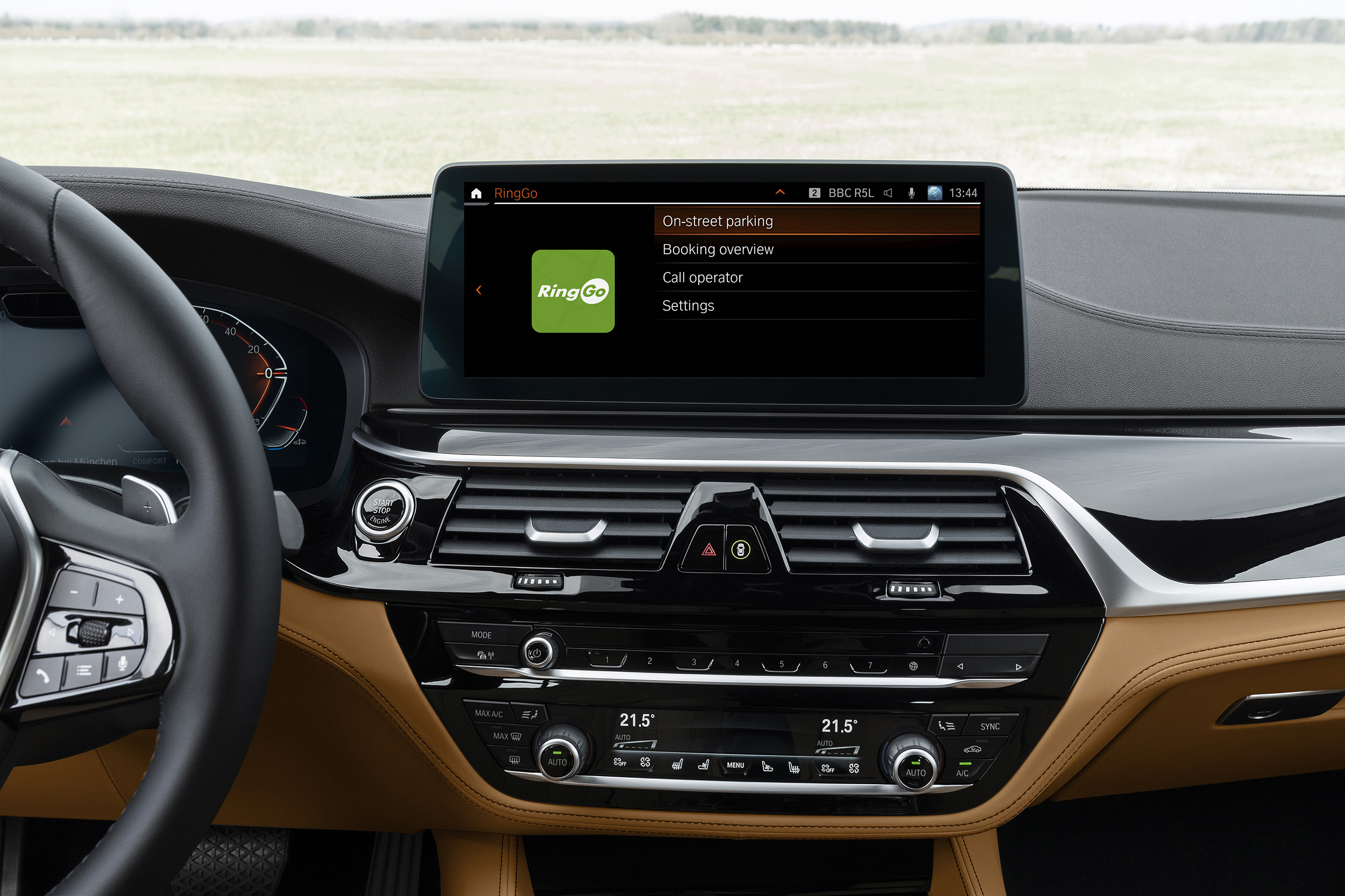 RingGo Park and Pay – Now in BMW