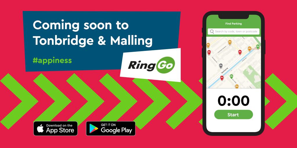 Phone Parking in Tonbridge is Changing