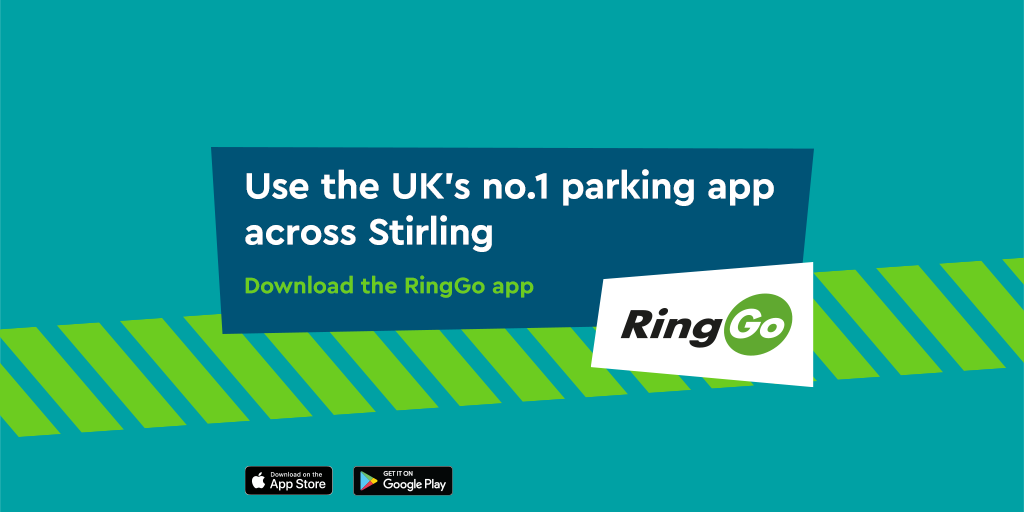 RingGo is now live in Stirling
